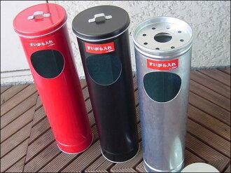 Trash bin with lid stand ashtray-veranda-outdoor-smoking-stand-ashtray