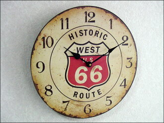 Wall clock-clock-American goods | レジェクションク lock (route 66)