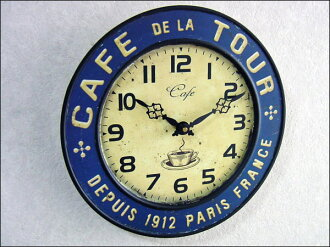 Clock wall hangings | Wall clock | American miscellaneous goods | レジェクションクロック (cafe tour)