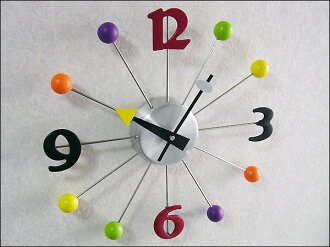 Clock wall hangings | Wall clock | Interesting miscellaneous goods | Interior miscellaneous goods | Design wall clock ball ≪ second party | Present | Birthday party | Bingo | Premium≫