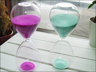 Hourglass 30 min-glass-Interior-sand glass L