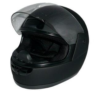 ヘルメットフルフェイスヘルメット ブラック カット・ハードコートシールド ベンチレータ