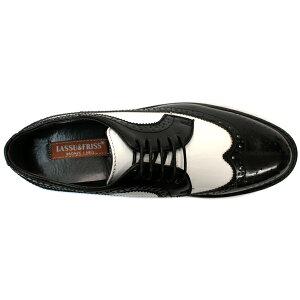 [送料無料][LASSU&FRISSラスアンドフリス]ビジネス&カジュアルキングサイズ対応ウイングチップシューズ802【4色展開】24.5〜29・30cmビジネス靴【6000円2足セット対象商品】【RCP】02P11Mar16