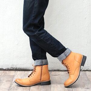 [送料無料]【Dedesデデス】7ホールレースアップブーツNo.5158サイドジップ【6色展開】メンズブーツ靴bootsチャッカプレーントゥ靴【2足8000円セット対象】【RCP】02P01Oct16