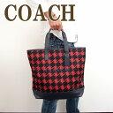 コーチ バッグ COACH メンズ トートバッグ ショルダーバッグ ゴルフバッグ 千鳥格子 ボストンバッグ 71758E82ブランド 人気
