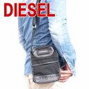 ディーゼル バッグ DIESEL メンズ ショルダーバッグ 斜めがけ ブラック X01308-PS711-T8013 ブランド 人気 ギフト 誕生日 プレゼント