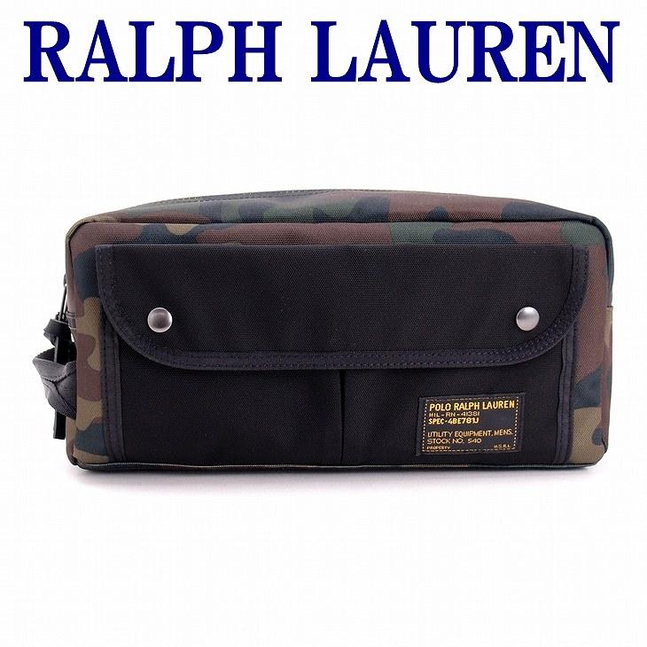 ポロ ラルフローレン バッグ メンズ セカンドバッグ POLO RALPH LAUREN クラッチバッグ セカンドポーチ カモ 迷彩 RL4055-9883-9001 ブランド