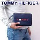 トミーヒルフィガー TOMMY HILFIGER バッグ メンズ クラッチバッグ セカンドバッグ W8