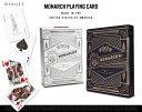 Monarch Playing Cards / モナーク プレイング カード theory11 デック トランプ カード マジシャン マジック DETAIL 【...