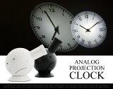 ANALOG PROJECTION CLOCK /アナログ プロジェクション クロックプロジェクター 時計 LED CLOCK 光時計 ローマ数字 アラビア数字DETAIL 【あす楽対応東海】