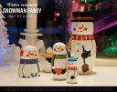 Snowman Famiy / スノーマン ファミリー X'MAS クリスマス MATRYOSHKA マトリョーシカ 雪だるま スノー CHRISTMAS 【あ...