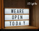 RoomClip商品情報 - LED Light Box / LED ライトボックス 看板 電気 インテリア ライト メニュー ボード ショップ 什器 DETAIL