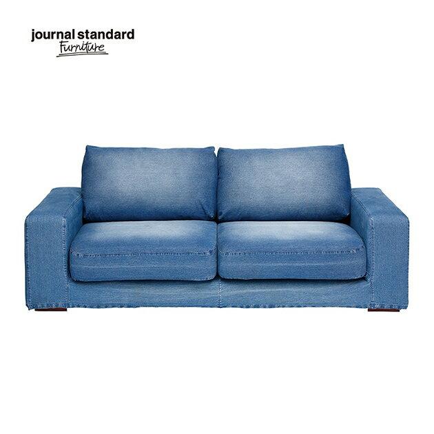 journal standard Furniture ジャーナルスタンダードファニチャー ソファ 2.5人掛け FRANKLIN SOFA フランクリンソファ デニム シンプル おしゃれ モダン インテリア リビング 完成品 木製 送料無料