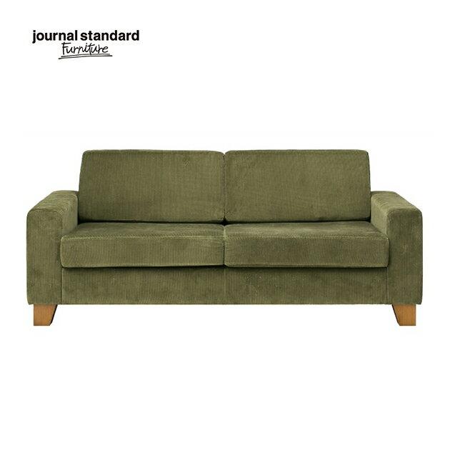 journal standard Furniture ジャーナルスタンダードファニチャー ソファ 2人掛け LYON SOFA 2P リヨンソファ 2P カーキ 幅168cm 北欧 シンプル おしゃれ モダン インテリア リビング 完成品 木製 送料無料