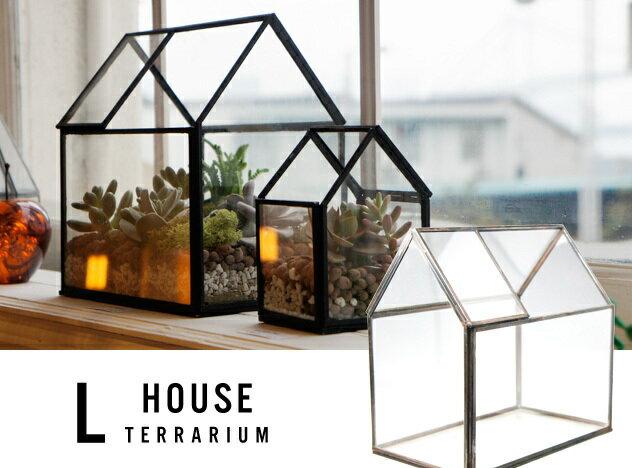 【 LARGE 】 House Terrarium / ラージ ハウス テラリウム ショーケース ガラスケース プランター 植物 detail 【あす楽対応_東海】