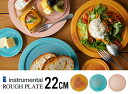 Rough Plate / ラフ プレートinstrumental インストゥルメンタルリム皿 信楽 食器 和食器