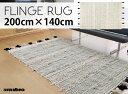 【200×140cm】FLINGE RUG / フリンジラグ...