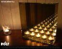 【L】votive infinity (5連) ボーティブインフィニティー ROLF(ロルフ) キャンドルホルダー キャンドル ロウソク 蝋 ミラー ガラス ミ...