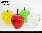 Apple peperweight/ アップル ペーパーウェイト林檎 りんご リンゴ オブジェDETAIL 【あす楽対応東海】