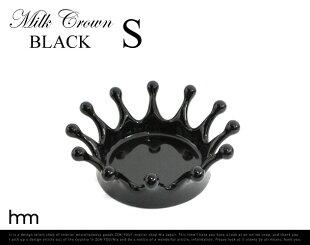 MilkCrownTray(Black)�ߥ륯���饦��֥�å��ڤ������б�_�쳤��