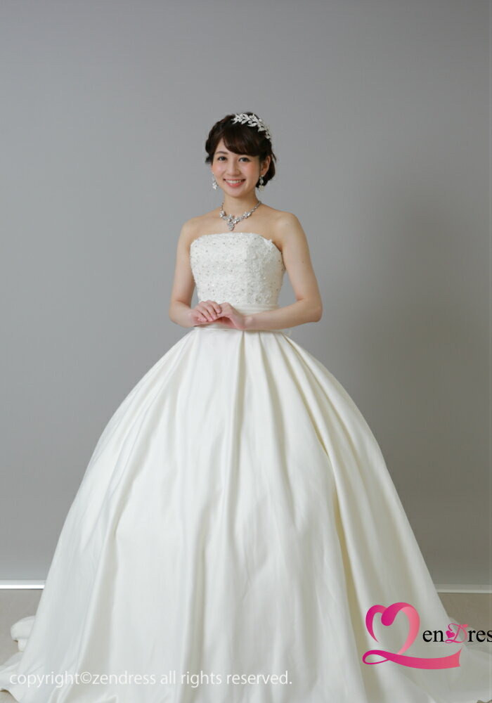 【新作】ウエディングドレス_花嫁ドレス_ホワイトドレス_二次会ドレス