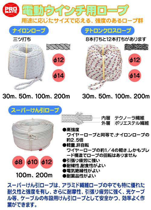 テトロンクロステープ(12本打ち)φ16 100mR-1610T マーベル☆とくしま☆