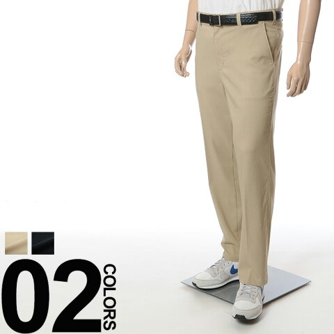 大きいサイズ メンズ B&T CLUB (ビーアンドティークラブ) ベンチレーション ストレッチ 無地 ノータック パンツ BIG SIZE カジュアル ボトムス 通気性 機能性 伸縮 喚起 シンプル