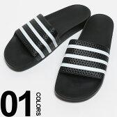 adidas (アディダス) ロゴ ボーダー シャワーサンダル ADILETTEメンズ カジュアル 男性 メンズファッション 靴 サンダル アディレッタ 05P29Jul16