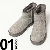 アグオーストラリア UGG AUSTRALIA ショートブーツ ロゴ ツイード切り替え CLASSIC MINI DONEGALドネガル ウールリッチ Woolrich ブランド メンズ 男性 カジュアル ファッション 靴 ブーツ クラシックミニ UGG1013550 楽天カード分割 05P03Dec16
