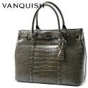ヴァンキッシュ VANQUISH フェイクレザー クロコ柄 2WAY トートバッグ ブランド メンズ 鞄 ショルダー VQM40190