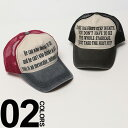 大きいサイズ メンズ CASTANO (カスターノ) 綿100% メッセージプリント メッシュ切り替え キャップ BIG SIZE カジュアル 小物 帽子 ハット コットン100% プリント
