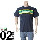 大きいサイズ メンズ B&T CLUB (ビーアンドティークラブ) 抗菌防臭 綿100% サーフプリント 半袖 Tシャツ BIG SIZE カジュアル トップス ティーシャツ イオンクラスター 静電防止