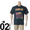 大きいサイズ メンズ B&T CLUB (ビーアンドティークラブ) 抗菌防臭 綿100% カレッジプリント クルーネック 半袖 Tシャツ BIG SIZE カジュアル トップス ティーシャツ イオンクラスター 静電防止