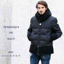 モンクレール MONCLER ダウンジャケット DOMINIQUE ドミニク ウール ナイロン フード ブランド メンズ MCDOMINIQUE7