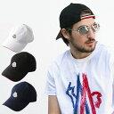 モンクレール MONCLER キャップ コットン ワッペン アジャスター 帽子 ブランド メンズ レディース MC00212000212C