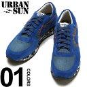 樂天商城 - URBAN SUN アーバンサン スニーカー スエード デニム ローカット ブランド メンズ 靴 シューズ スウェード カモフラ ANDRE121