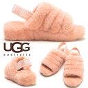 アグオーストラリア サンダル レディース UGG AUSTRALIA シープスキン ロゴ ヒールス