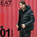 エンポリオ アルマーニ EA7 ダウンジャケット メンズ EMPORIO ARMANI EA7 パーカー ダブルジップ ブルゾン ブランド アウター フード EA6ZPB64PNN3Z 【endsale_18】