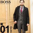 ヒューゴ ボス HUGO BOSS コート ナイロン スタンドカラー フルジップ ブランド メンズ ビジネス アウター HBRMOLTEDO9S