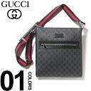 グッチGUCCIショルダーバッグミニレザーシマラインウェブストラップブランドメンズバッグ鞄GC474137K5RLN