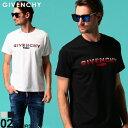 ジバンシィ メンズ Tシャツ 半袖 GIVENCHY ロゴ グラデーション FADED クルーネック REGULAR FIT ブランド トップス ロゴT GVBM70UY3002 SALE_1_a