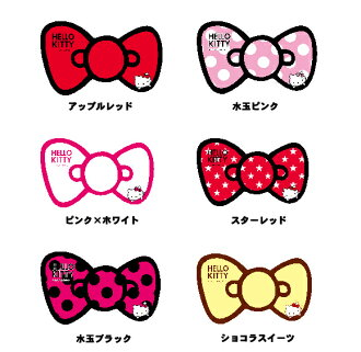 헬로 키티 리본 스티커 진짜 나이트 라이프 6 종류 중에서 선택할 수 있는 유형의 마법 차 Hello Kitty 키티 쨩 자동차 용품 라쿠텐 쇼핑몰