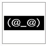 ?新品?顔文字びっくり(S?BK)ワコー社製ステッカー愛車にワン! 【メール便/車】?新品?顔文字びっくり(S?BK)ワコー社製ステッカー【メール便/車】