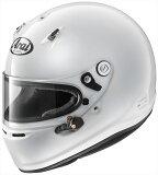 【送料無料】Arai/アライ 四輪用ヘルメット GP-6 8859 (57-58) 白 Super cLc構造 4530935426874