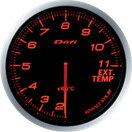 日本精機 メーター Defi−Link ADVANCE BF  排気温度計 アンバーレッド DF10602