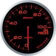 日本精機 メーター Defi−Link ADVANCE BF  油圧計 アンバーレッド DF10202 0824楽天カード分割