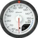 日本精機 メーター Defi−Link ADVANCE CR  油温計 60φ ホワイト DF09101