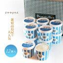残暑見舞い アイス 送料無料 アイス ドナテロウズ ママチーノアイスクリーム 12個 ダブルクリーム プレゼント 百貨店 アイス お祝 誕生日 生クリーム