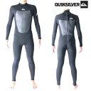 クイックシルバー ウェットスーツ メンズ 3mm/2mm インナーバリア フルスーツ ウエットスーツ サーフィンウェットスーツ Quiksilver Wetsuits