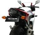 CBR400R/ABS(16年) フェンダーレスキット ブラック LED ナンバー灯付 ACTIVE(アクティブ)